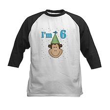 Monkey 6th Birthday Tee
