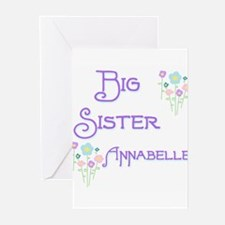 Big Sister Annabelle Greeting Cards (Pk of 10)