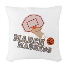March Madness Woven Throw Pillow