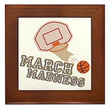 March Madness Framed Tile
