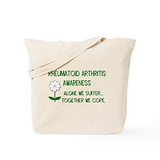 Rheumatoid Arthritis Awarenes Tote Bag