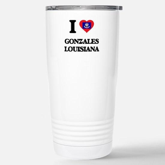 I love Gonzales Louisia Stainless Steel Travel Mug