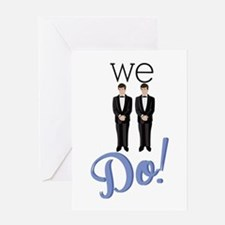 We Do! Greeting Cards