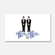 Mr.& Mr. Car Magnet 20 x 12
