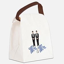 Mr.& Mr. Canvas Lunch Bag