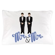 Mr.& Mr. Pillow Case