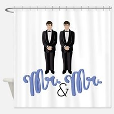 Mr.& Mr. Shower Curtain