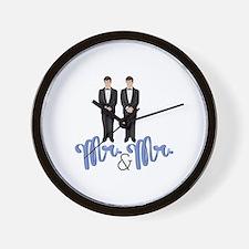 Mr.& Mr. Wall Clock
