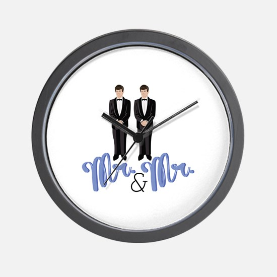 Mr.& Mr. Wall Clock