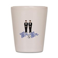 Mr.& Mr. Shot Glass