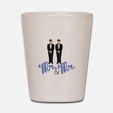 Mr.& Mr. Shot Glass