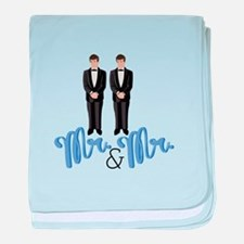 Mr.& Mr. baby blanket