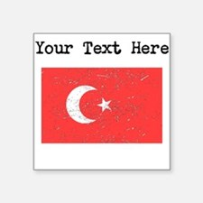 Turkey Flag Sticker