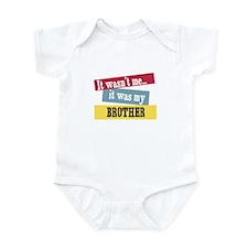 Brother Infant Bodysuit
