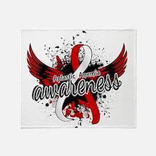 Aplastic Anemia Awareness 16 Throw Blanket