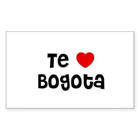 Te * Bogota Rectangle Sticker