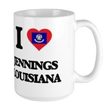 I love Jennings Louisiana Mugs