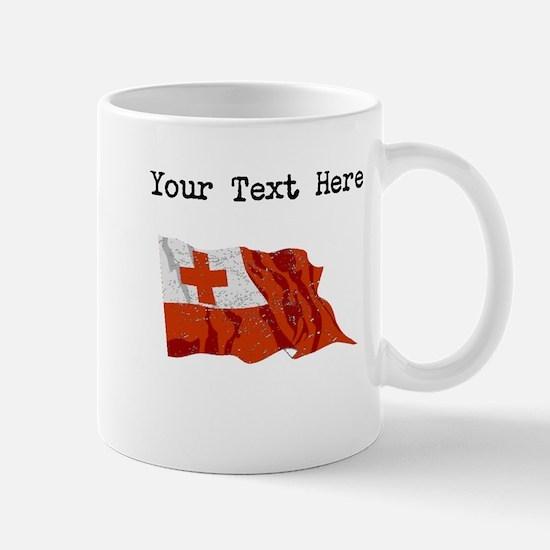 Tonga Flag Mugs
