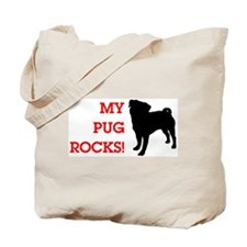 My Pug Rocks! Tote Bag