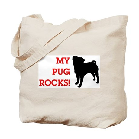 My Pug Rocks! Tote Bag