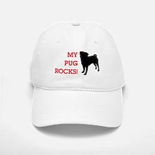 My Pug Rocks! Baseball Baseball Cap