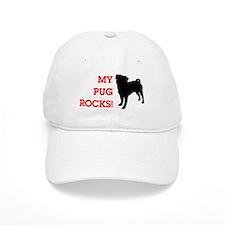 My Pug Rocks! Baseball Cap