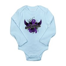 Anorexia Awareness 16 Long Sleeve Infant Bodysuit