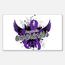 Anorexia Awareness 16 Sticker (Rectangle)