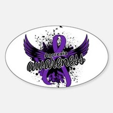 Anorexia Awareness 16 Sticker (Oval)