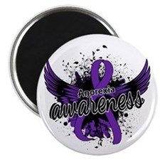"""Anorexia Awareness 16 2.25"""" Magnet (100 pack)"""