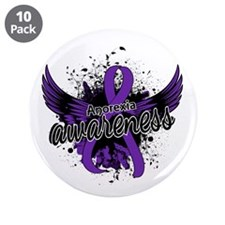 """Anorexia Awareness 16 3.5"""" Button (10 pack)"""