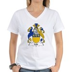 Lisle Family Crest Women's V-Neck T-Shirt