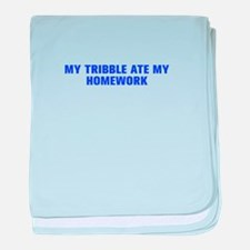My tribble ate my homework-Akz blue 500 baby blank