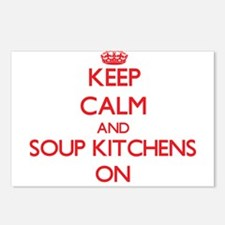 Keep Calm and Soup Kitche Postcards (Package of 8)