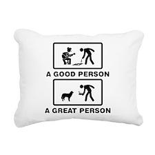 Maremma Sheepdog Rectangular Canvas Pillow