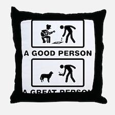 Maremma Sheepdog Throw Pillow