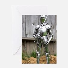 Country Knight Greeting Card