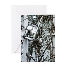 Bramble Knight Greeting Card