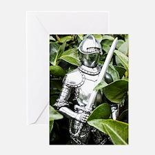 Green Knight Greeting Card
