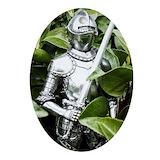 Knight Oval Ornaments