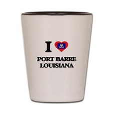 I love Port Barre Louisiana Shot Glass