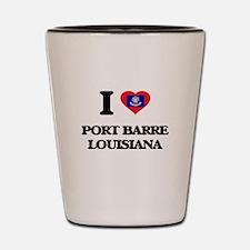 I love Port Barre Louisiana Shot Glass
