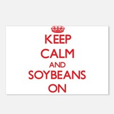Keep Calm and Soybeans ON Postcards (Package of 8)