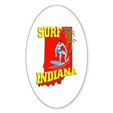 surf Indiana Decal