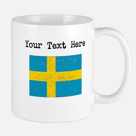 Sweden Flag Mugs