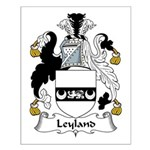 Leyland Family Crest Small Poster