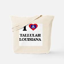 I love Tallulah Louisiana Tote Bag
