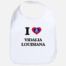 I love Vidalia Louisiana Bib