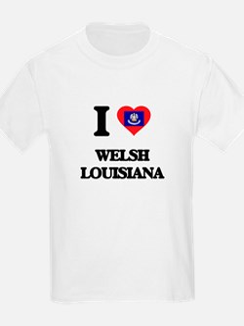 I love Welsh Louisiana T-Shirt