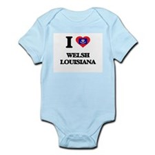 I love Welsh Louisiana Body Suit